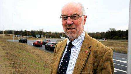 Martin Wilby, Member of the Highways and Infrastructure Cabinet at Norfolk County Council